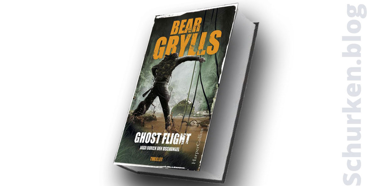 Bear Grylls: Ghost Flight ©2018 Harper Collins