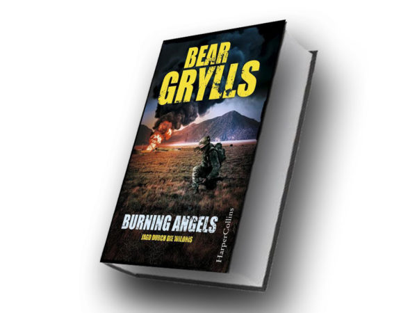 Bear Grylls: Burning Angels ©2019 HarperCollins